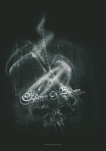 Buy Guitar And Scythes Flag by Children Of Bodom