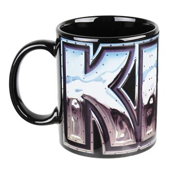KISS Chrome Logo Mug