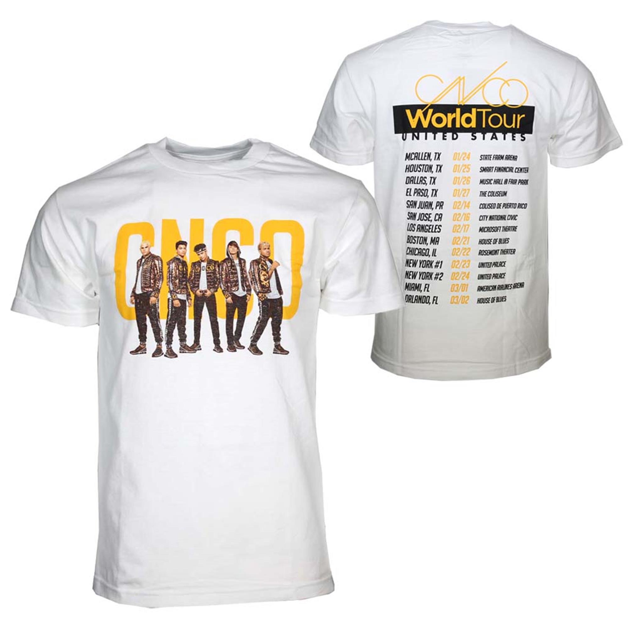 CNCO Band Photo White T-Shirt