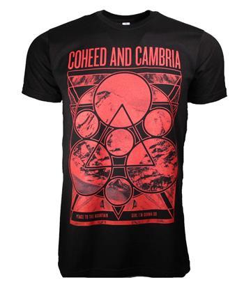 Coheed & Cambria Coheed and Cambria Mountain Peace T-Shirt