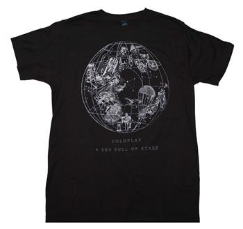 Buy Coldplay Sky Full of Stars T-Shirt by Coldplay