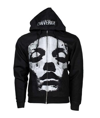 Buy Converge Jane Doe Zip-Up Hoodie Sweatshirt by Converge