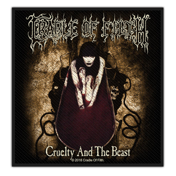 Buy Cruelty And The Beast Patch by Cradle Of Filth