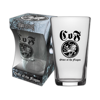 Buy Order Of The Flagon Beer Glass by Cradle Of Filth