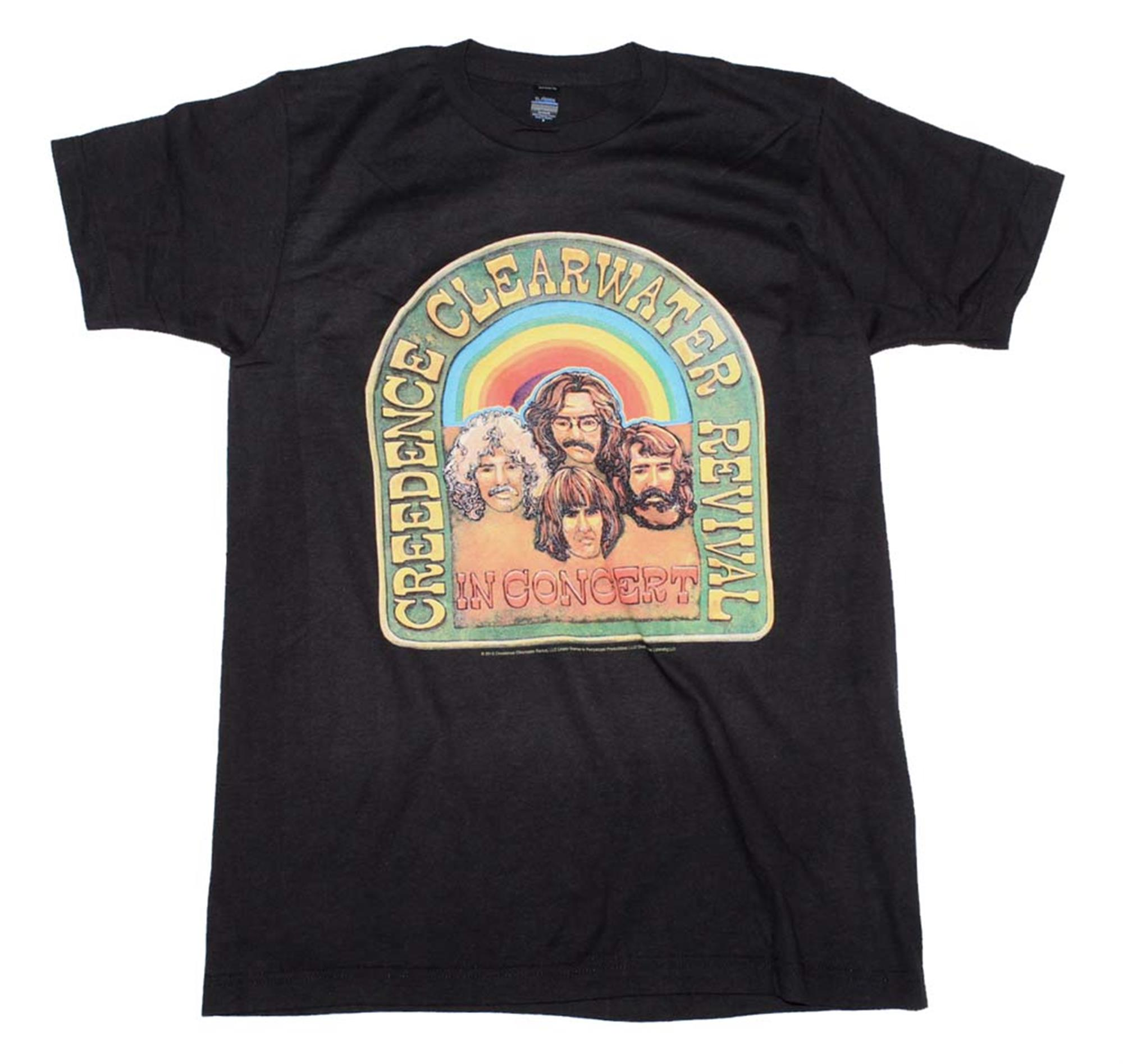 Creedence Clearwater Revival In Concert T-Shirt
