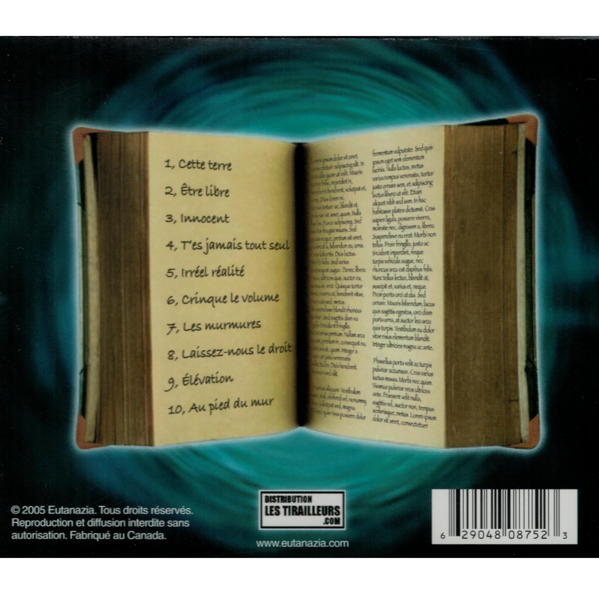 Crinque Le Volume CD