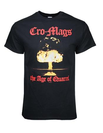 Buy Cro-Mags Age of Quarrel T-Shirt by Cro-mags