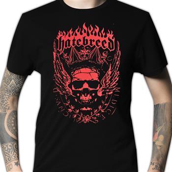 Hatebreed Crowned Skeleton (Import) T-Shirt