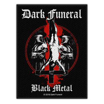 Dark Funeral Black Metal Patch