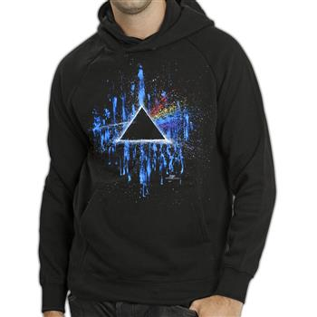 Pink Floyd Dark Side Splattered Pullover Hoodie (Import)