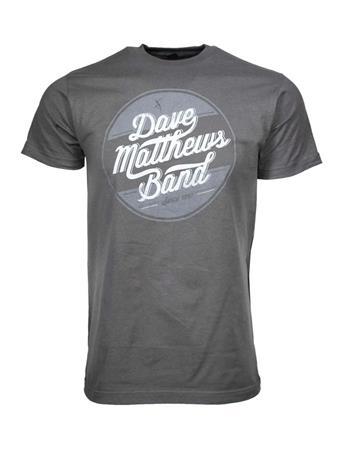 Dave Matthews Band Dave Matthews Circle Logo T-Shirt