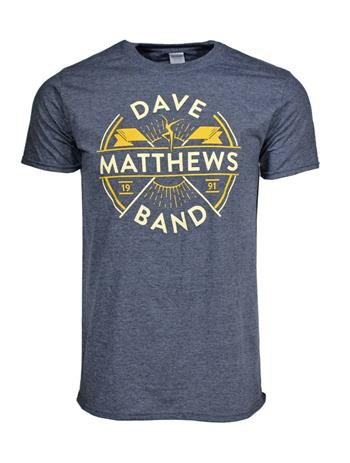 Buy Dave Matthews Band Flag T-Shirt by Dave Matthews Band