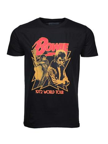 Buy David Bowie 1972 World Tour T-Shirt by David Bowie
