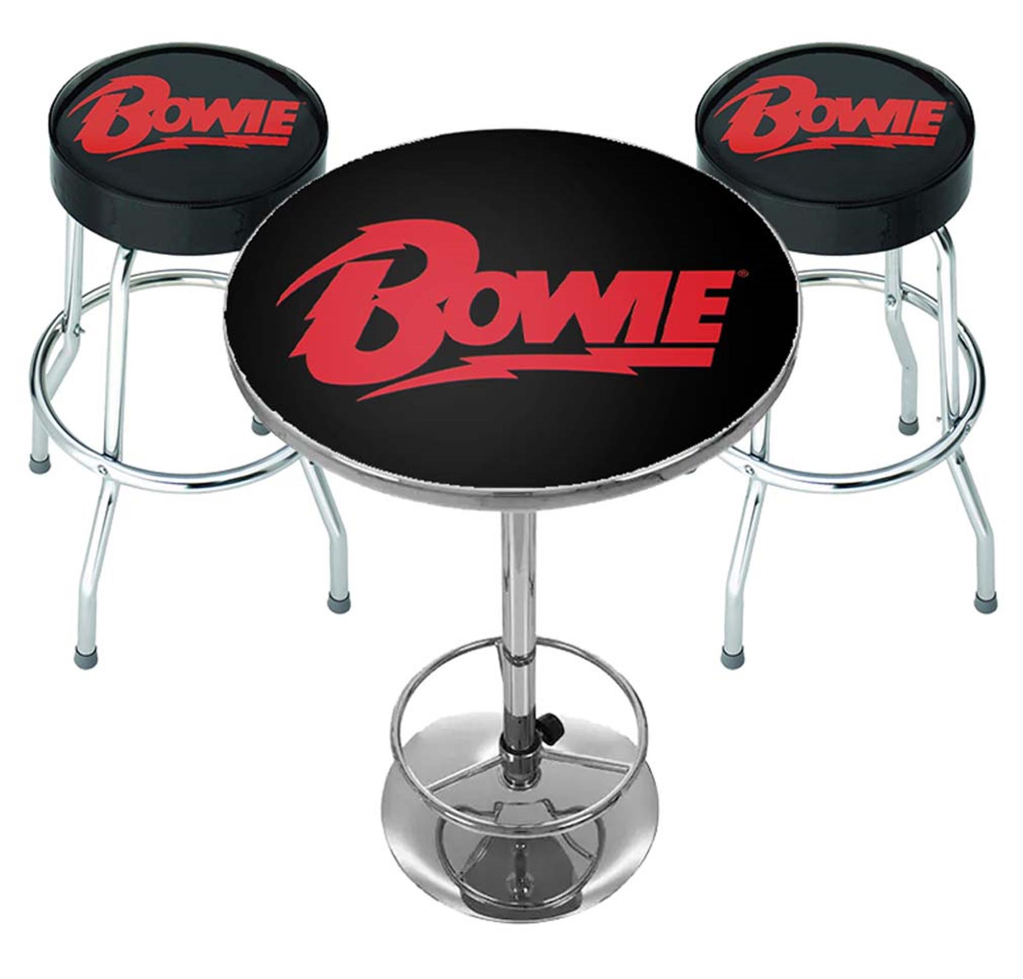 David Bowie Logo Bar Set