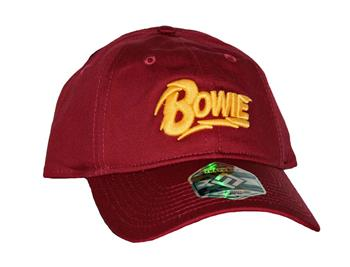 Buy David Bowie Red Cotton Dad Hat by David Bowie