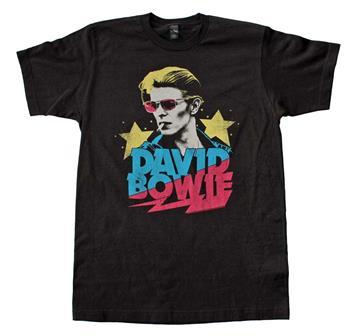 Buy David Bowie Starman Soft T-Shirt by David Bowie
