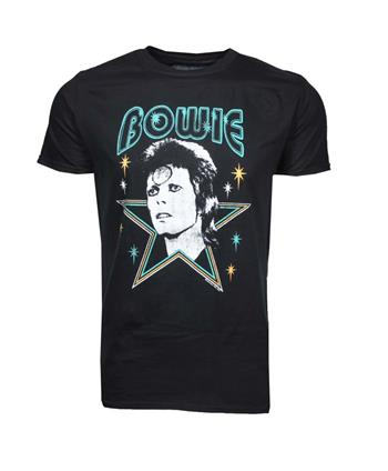 Buy David Bowie Stars T-Shirt by David Bowie