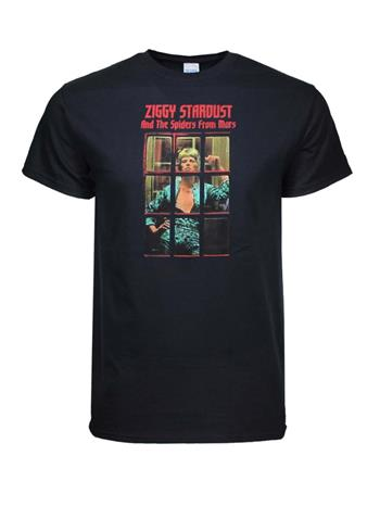 David Bowie David Bowie Ziggy Phonebooth T-Shirt