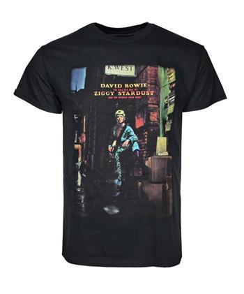 David Bowie David Bowie Ziggy Plays Guitar T-Shirt
