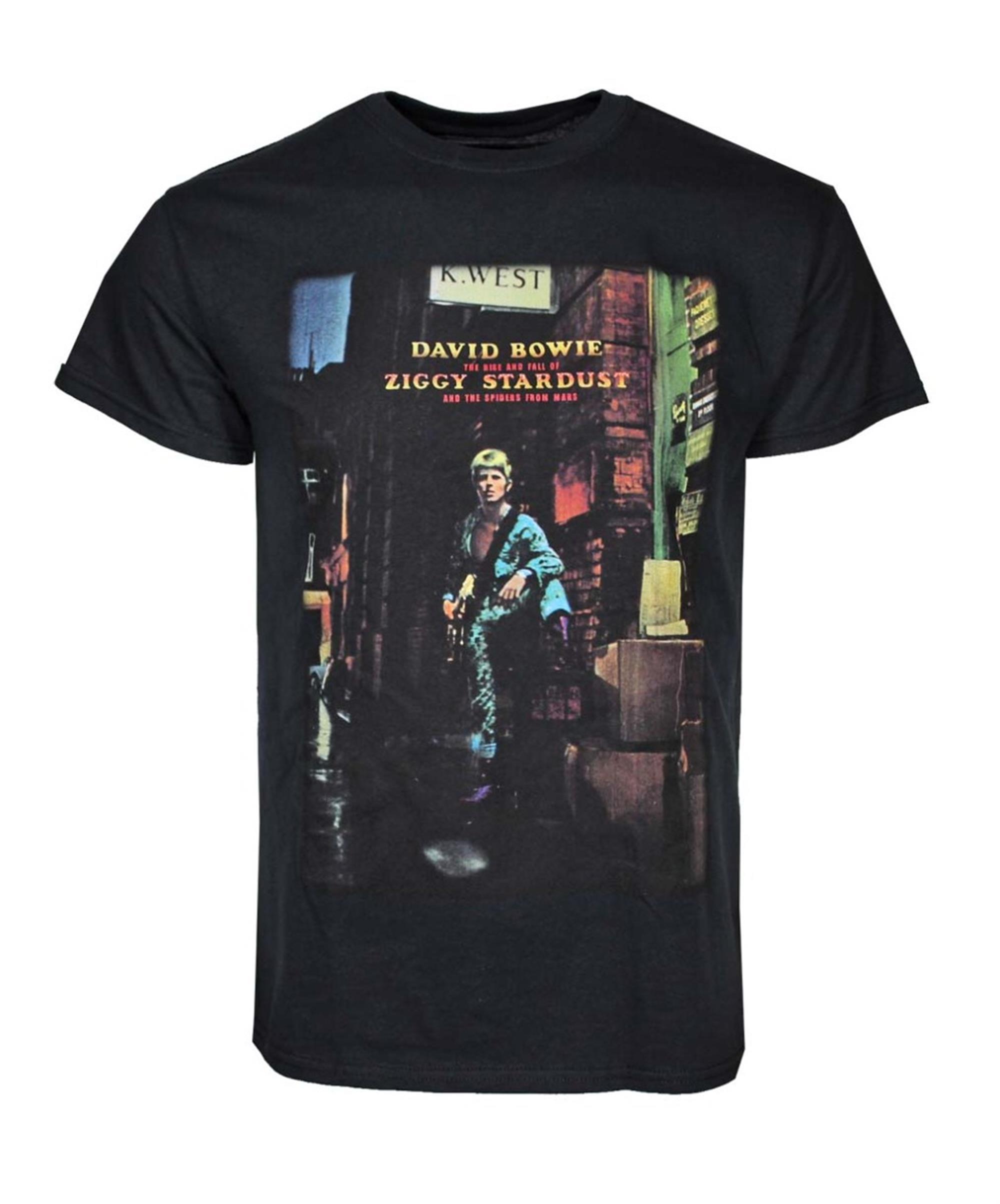 David Bowie Ziggy Plays Guitar T-Shirt