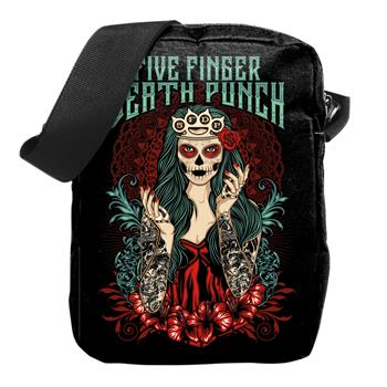 Five Finger Death Punch Day Of The Dead Crossbody Bag