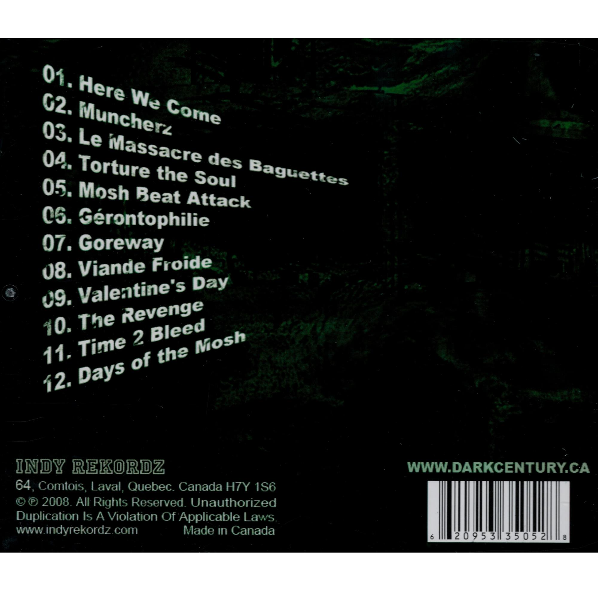 Days Of The Mosh CD