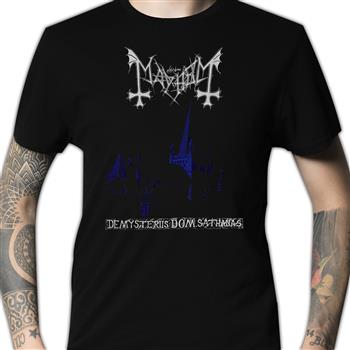 Buy De Mysteriis Dom Sathanas (Import) T-Shirt by Mayhem