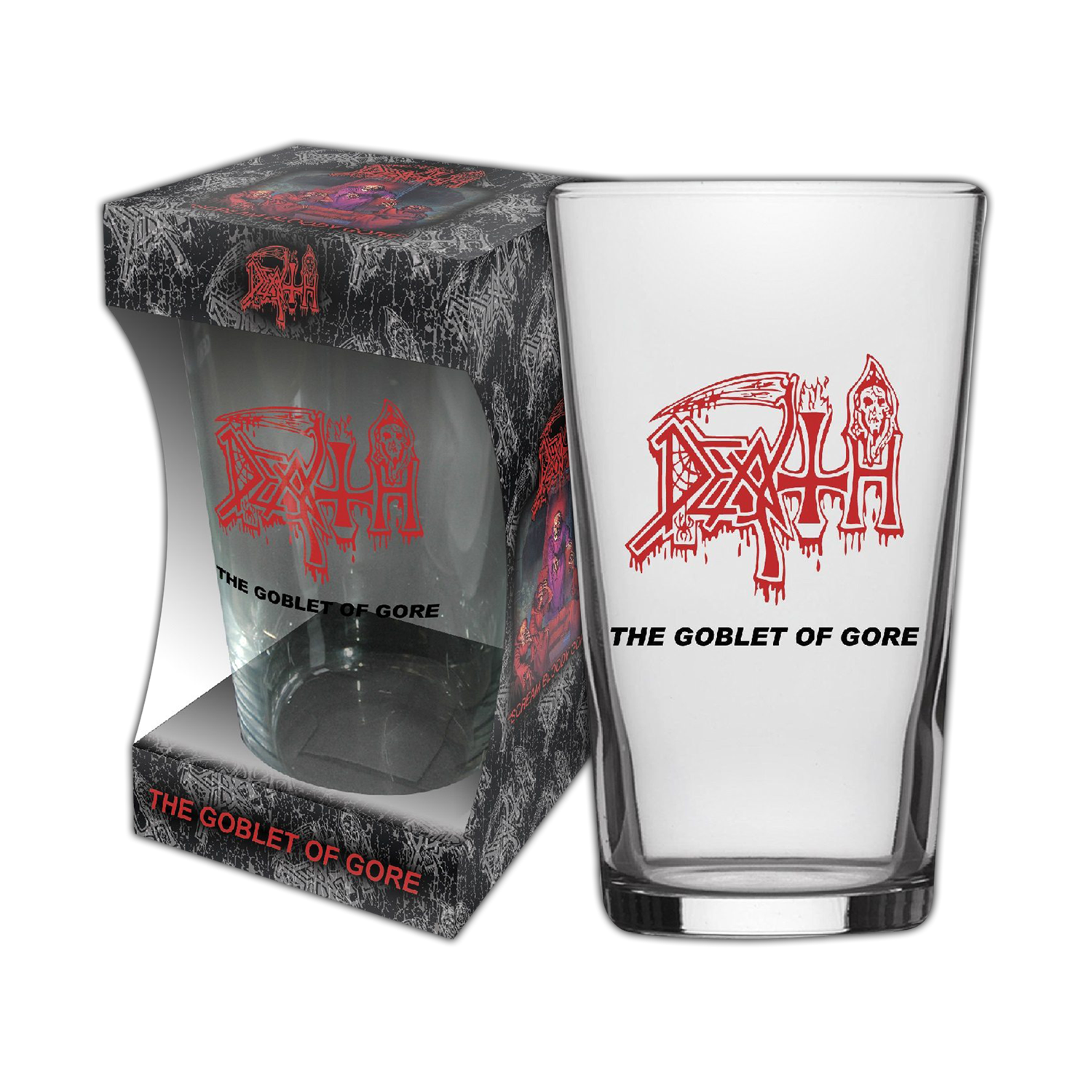 The Goblet Of Gore Beer Glass