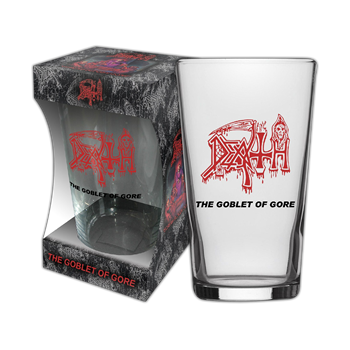 Death The Goblet Of Gore Beer Glass