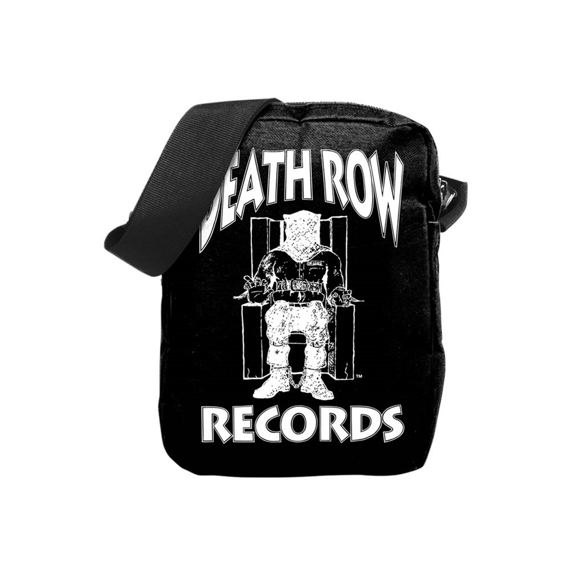 Death Row Records Logo Crossbody Bag