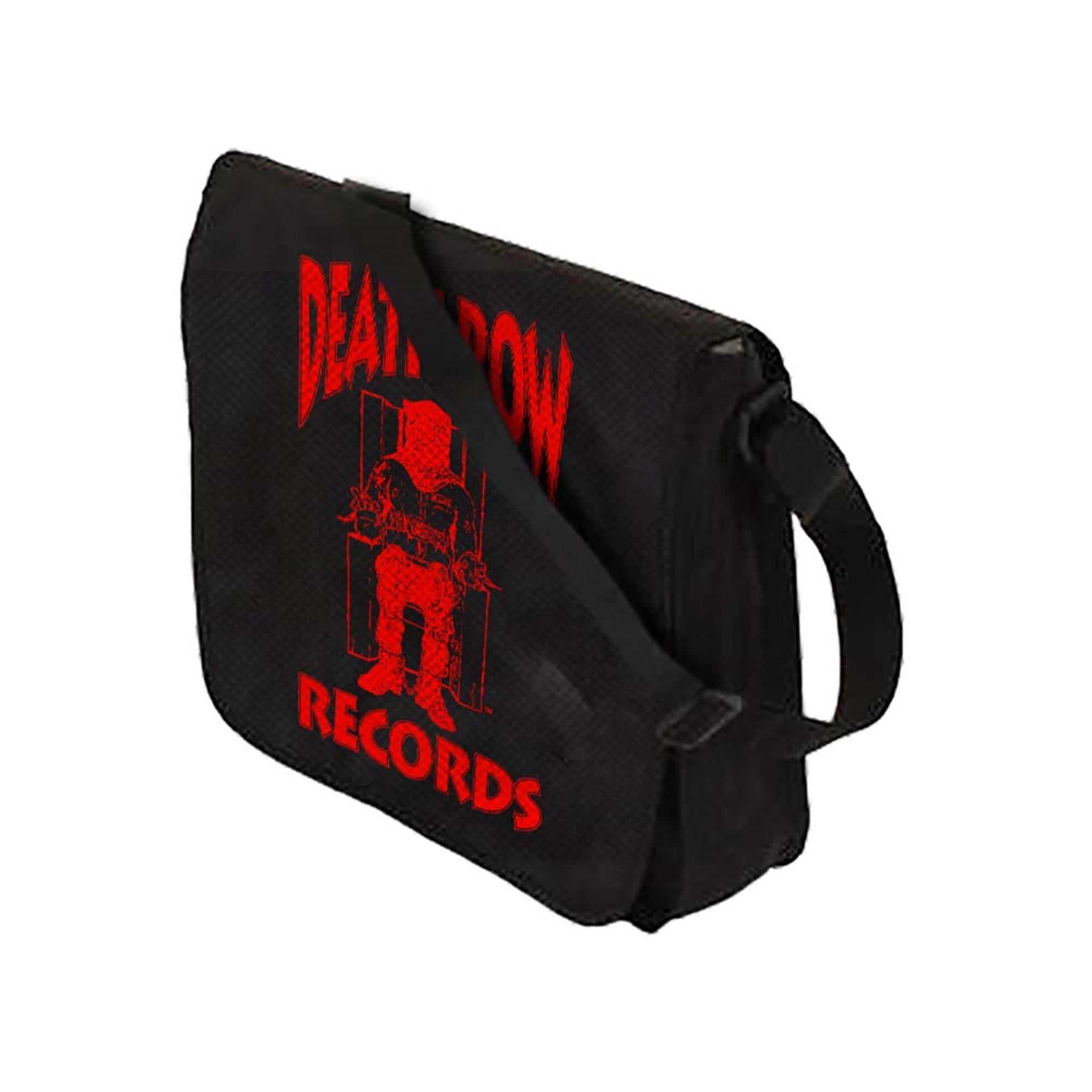 Death Row Records Logo Flap Top Record Bag