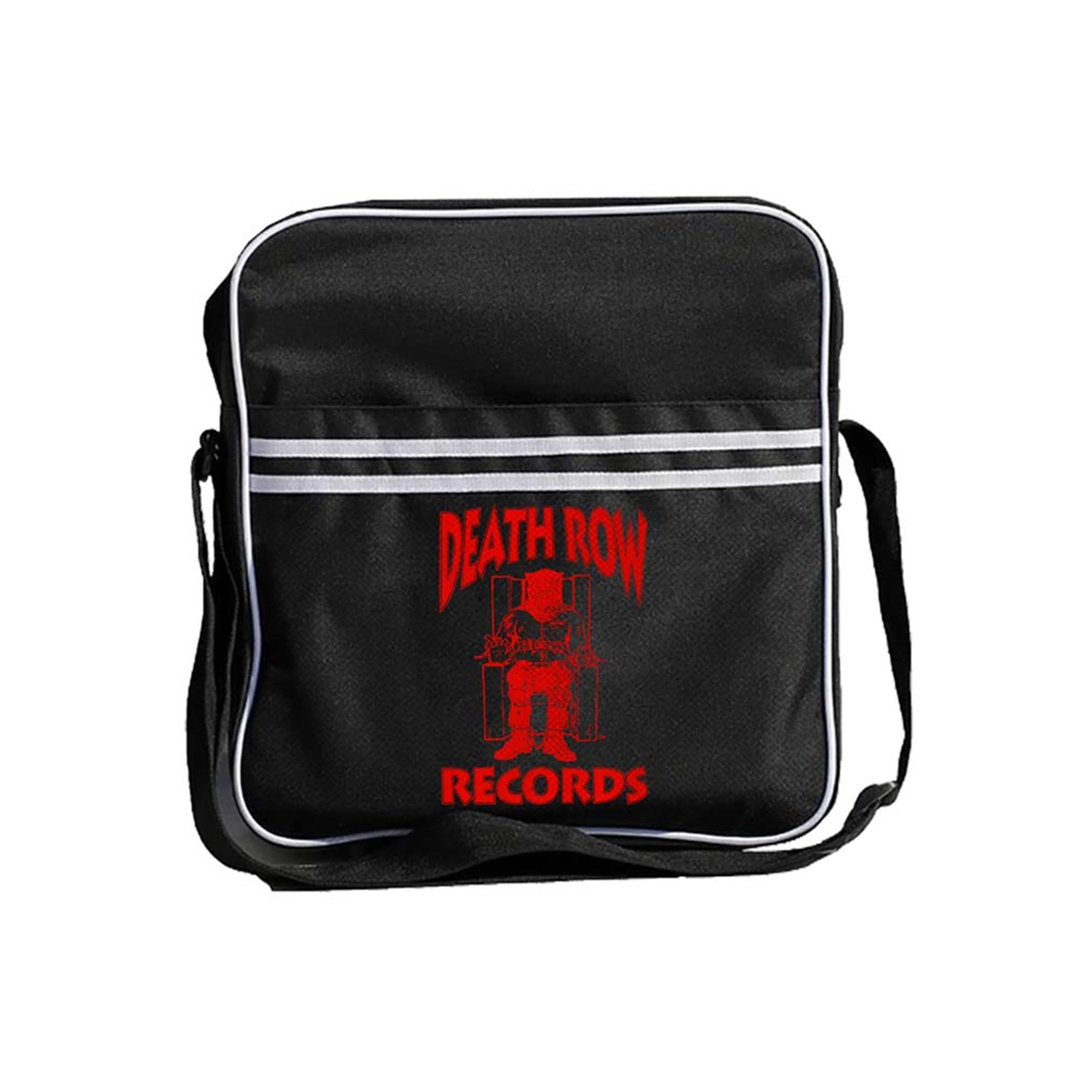 Death Row Records Logo Zip Top Record Bag