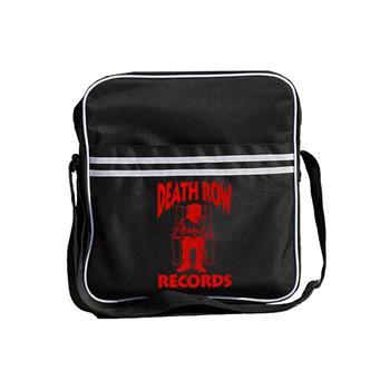 Death Row Records Death Row Records Logo Zip Top Record Bag