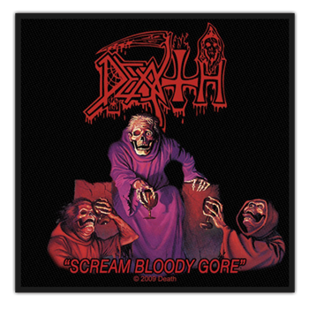 Buy Scream Bloody Gore Patch by Death
