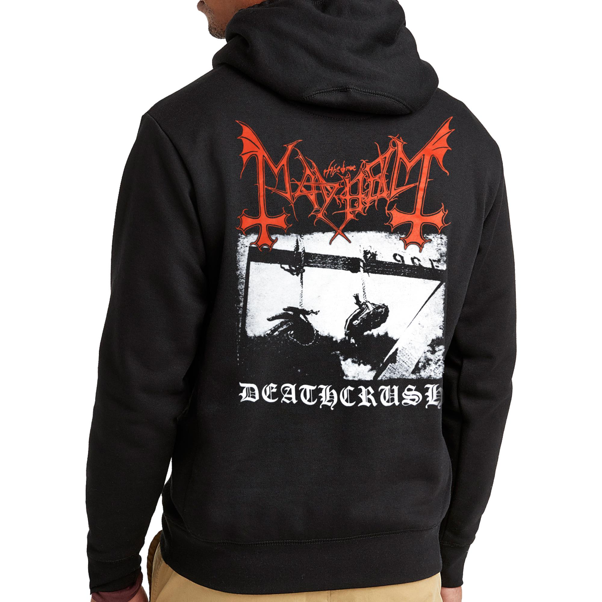 Deathcrush Zip Hoodie