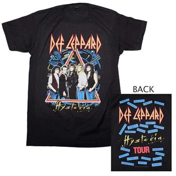 Buy Def Leppard Hysteria Tour T-Shirt by DEF LEPPARD