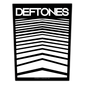 Deftones Abstract Lines Patch