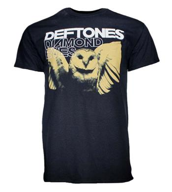 Buy Deftones Sepia Owl T-Shirt by Deftones