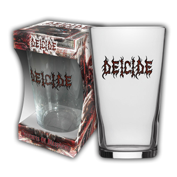 Deicide Logo Beer Glass