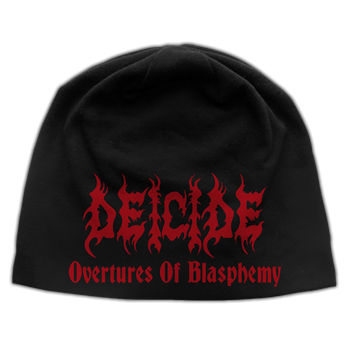 Buy Overtures Of Blasphemy Beanie by Deicide