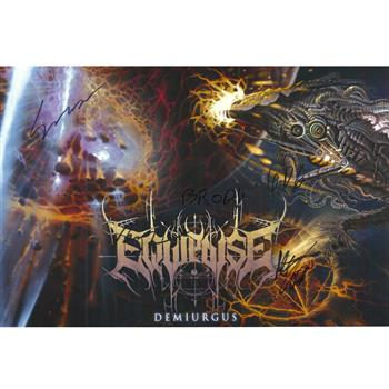 Equipoise Demiurgus Autographed Poster