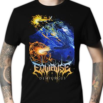 Buy Demiurgus Cover T-Shirt by Equipoise