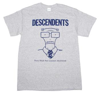 Buy Descendents Thou Shalt Not Commit Adulthood T-Shirt by Descendents
