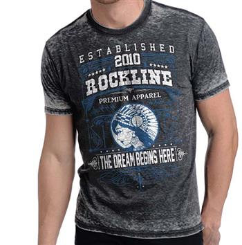 Buy Rockline Premium Men's Dream Burnout T-Shirt by Designer Streetwear