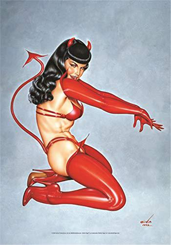 Bettie Page Devil