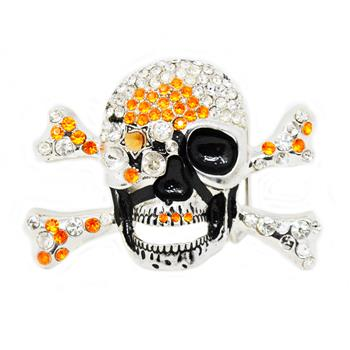 Generic Diamond Skull Buckle