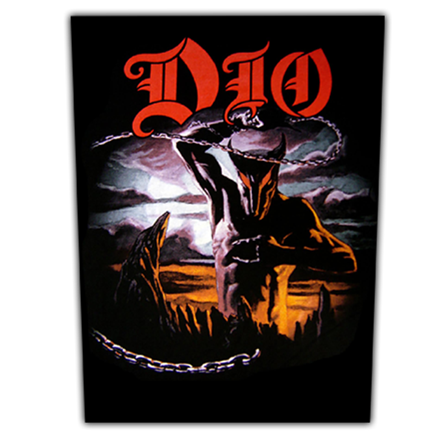 Holy Diver Close Up Backpatch