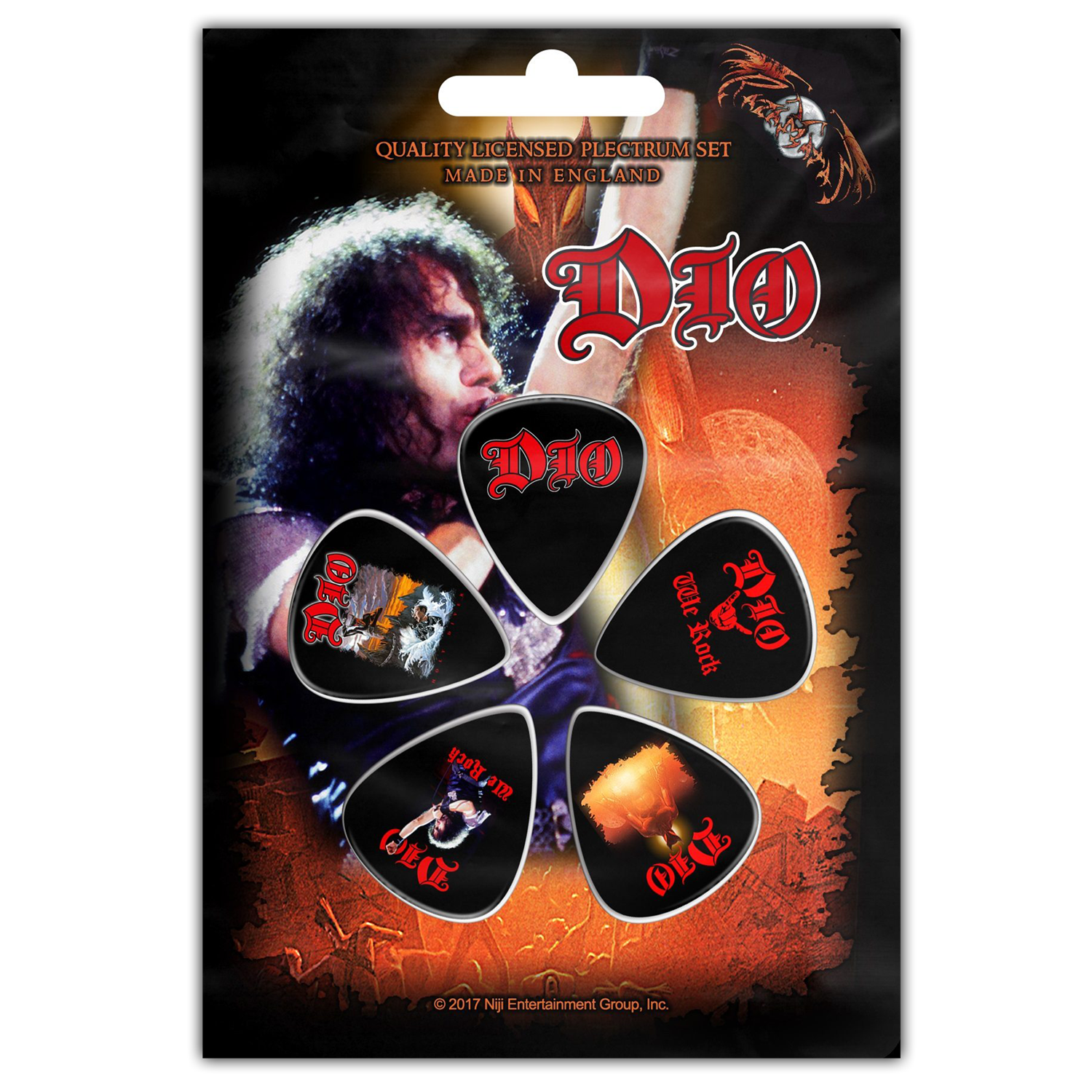 We Rock Guitar Pick Set