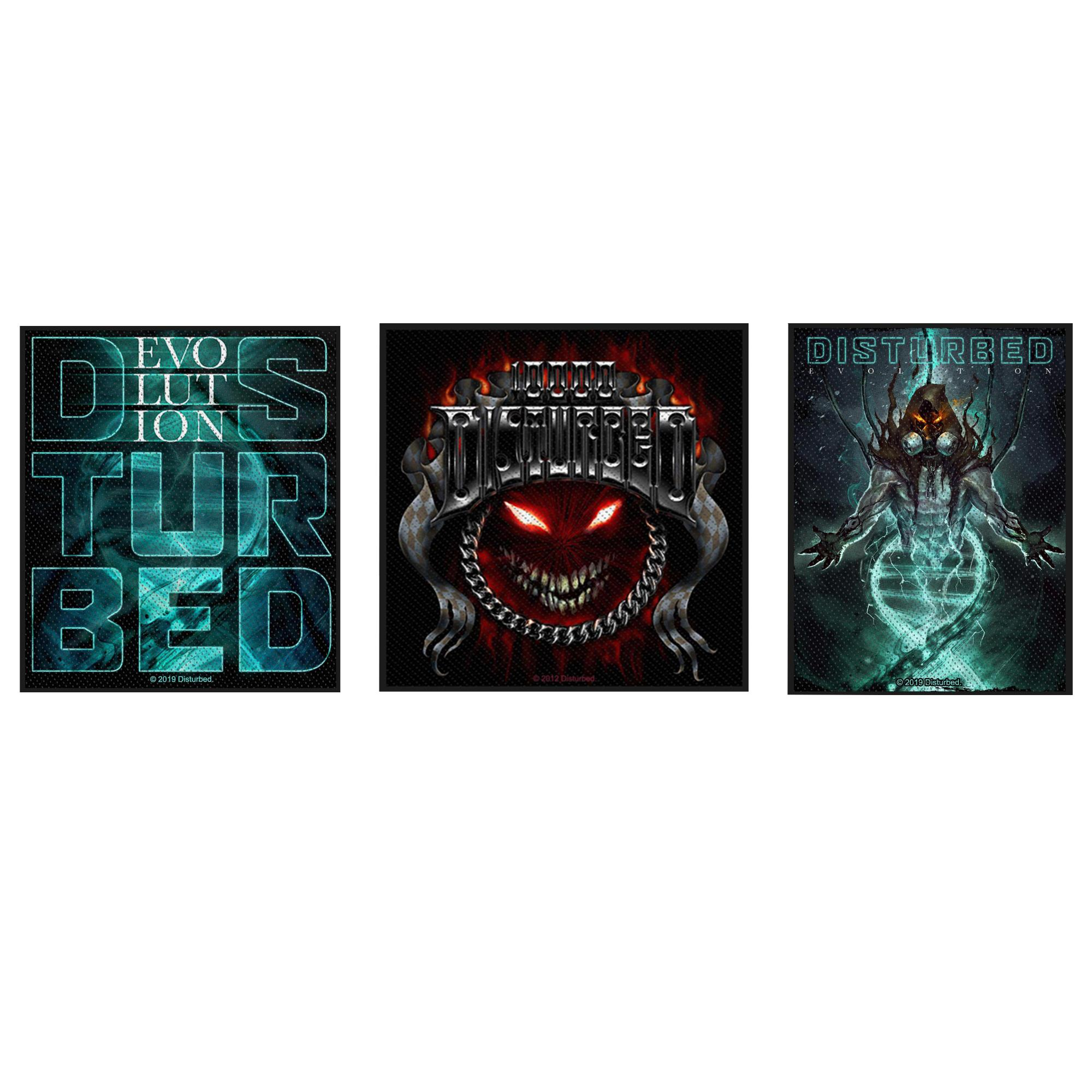 Disturbed Patch Pack