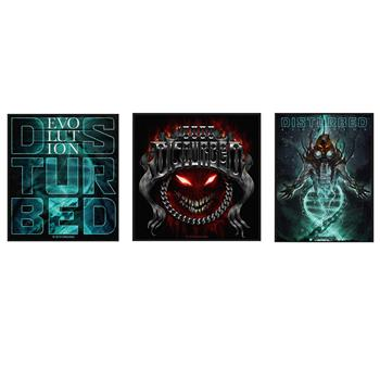 Disturbed Disturbed Patch Pack